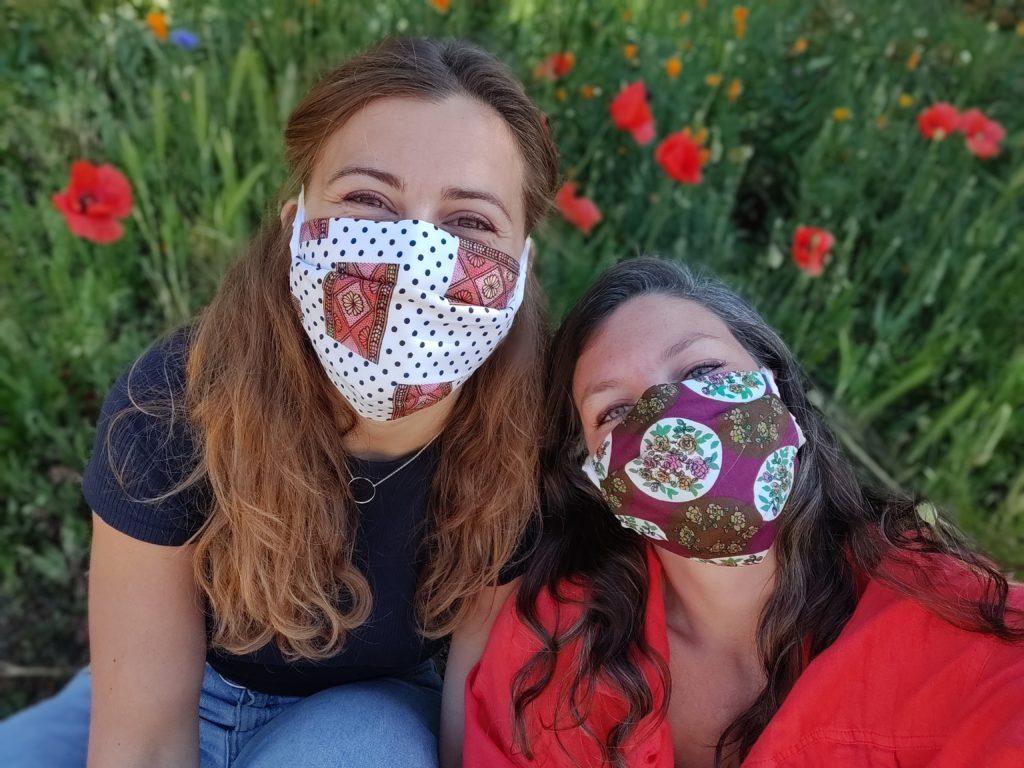 Masque en tissu à motif