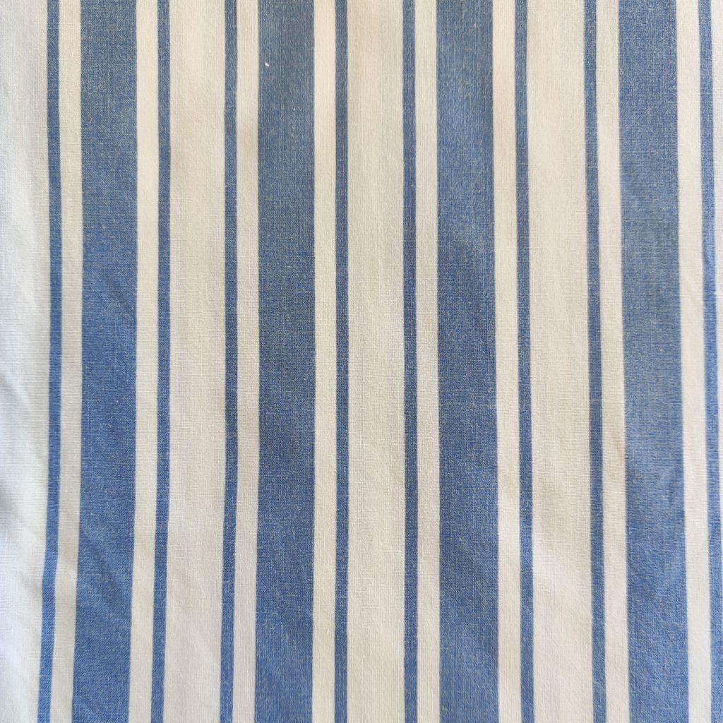 Tissu upcyclé bleu