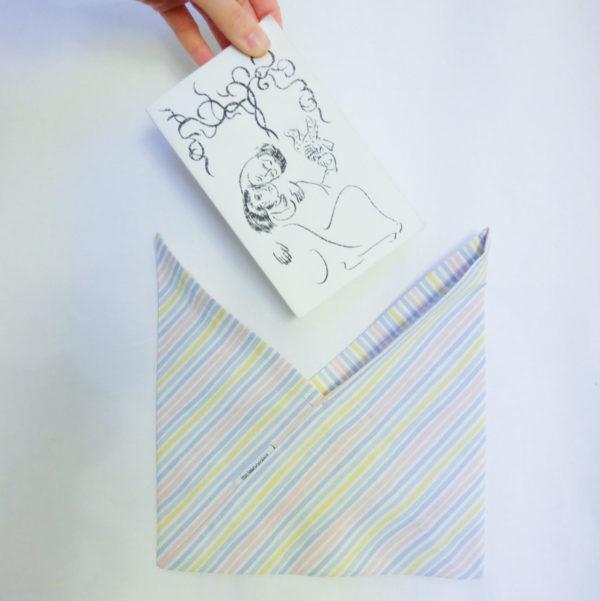 Emballage réutilisable Azuma Bukuro taille S