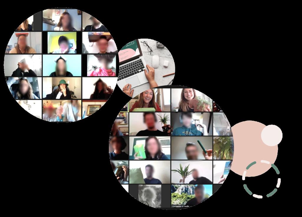 Animations en ligne the loop project